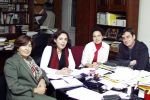 REUNIÓN GRUPO DE INFANCIA 2002