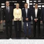 El debate a seis en Telemadrid
