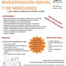 [Pendiente de próxima convocatoria] ¡Últimas plazas! III Curso Profesional de Investigación Social y de Mercados