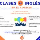 [Pendiente próxima convocatoria]Clases de inglés con descuentos especiales para colegiados/as