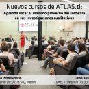 [FINALIZADO]Cursos de Análisis Cualitativo con ATLAS.ti en junio