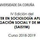 Máster en Sociología Aplicada: Investigación Social y de Mercados