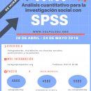 [Anulado] Nuevo Curso SPSS. Análisis Cuantitativo para la Investigación Social (del 26 de abril al 24 de mayo)
