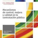Publicación del Libro: «Mecanismos de control, mejora y calidad en la contratación pública» del colegiado Iván Ochsenius Robinson