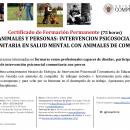 Curso «Animales y Personas»