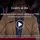 Eliseo Fernández en el programa Cuatro al día – 09/04/2019