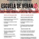 XXIV Escuela de Verano: «Potencia tu acceso al empleo».